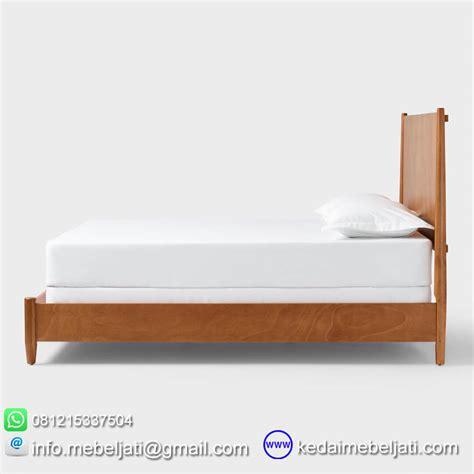 Tempat Tidur Minimalis beli tempat tidur vintage scandinavia minimalis kayu jati