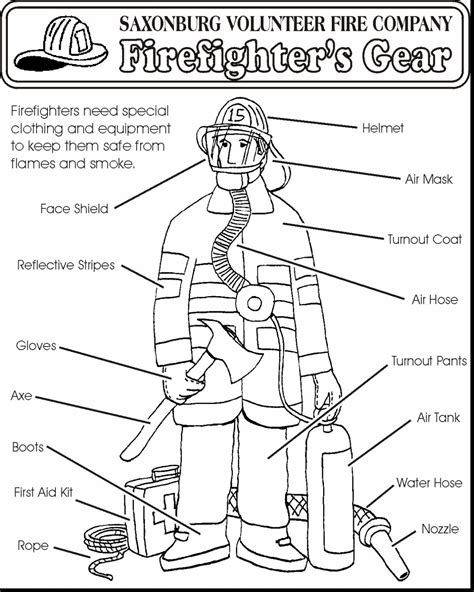 coloring pages vire girl fire safety coloring pages coloringsuite com