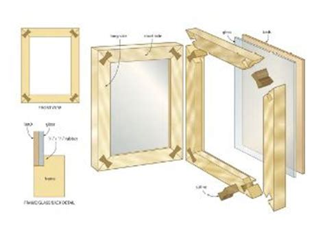 woodworking picture frame plans pallet picture frame wood plans home decor wood plans