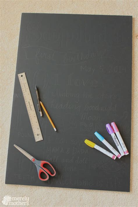 diy chalkboard materials best 20 birthday board ideas on