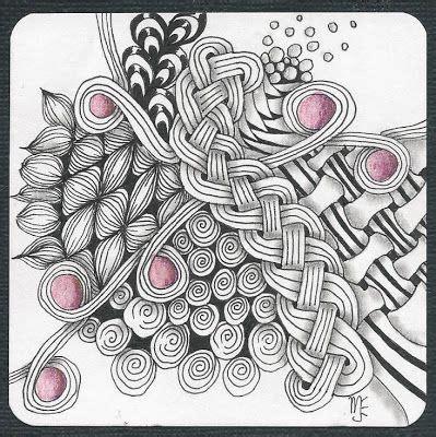zentangle braid pattern pinterest the world s catalog of ideas