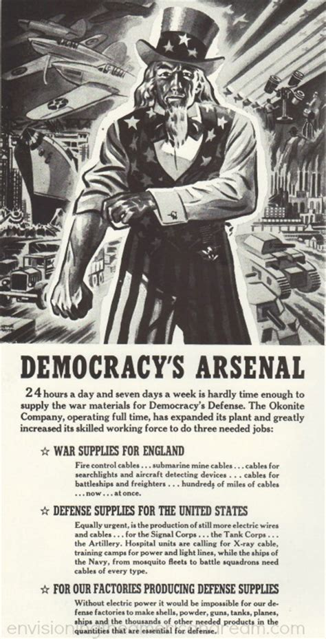 Arsenal Of Democracy Speech | how detroit won wwii envisioning the american dream
