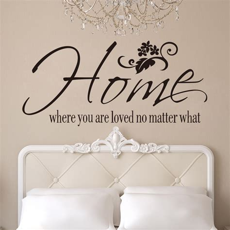 Birdcage Wall Art Stickers vinyl beautiful home english quotes removable home decal