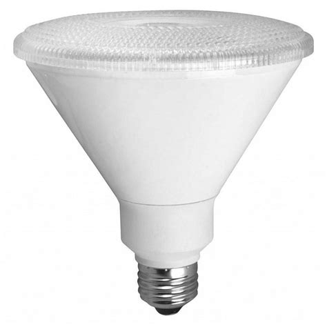 Led Light Bulbs Par38 Tcp 90w Equivalent Warm White Par38 Non Dimmable Led Spot Light Bulb 8 Pack Rlvp389030nd8