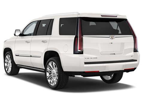 Rear Exterior Doors Image 2016 Cadillac Escalade 4wd 4 Door Platinum Angular Rear Exterior View Size 1024 X 768