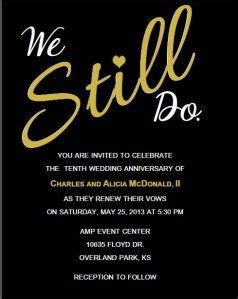 Invitations By Me   Things I love.   Vow renewal