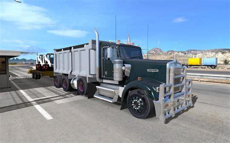 kenworth tandem dump truck w900 dump truck v1 0 modhub us