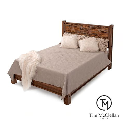 riley complete bed with bark tile green gables