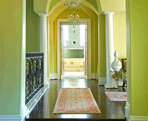 foyer designer shelly riehl david lime green hgtv color of the month july