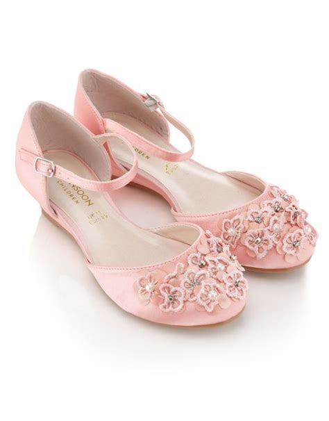 pink flower shoes monsoon 163 25 flower