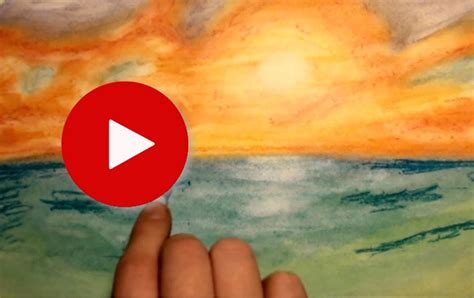 how to draw a boat with oil pastels simple sunset drawing at getdrawings free for