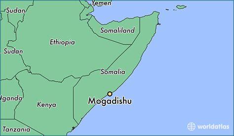 mogadishu on world map where is mogadishu somalia mogadishu banaadir map