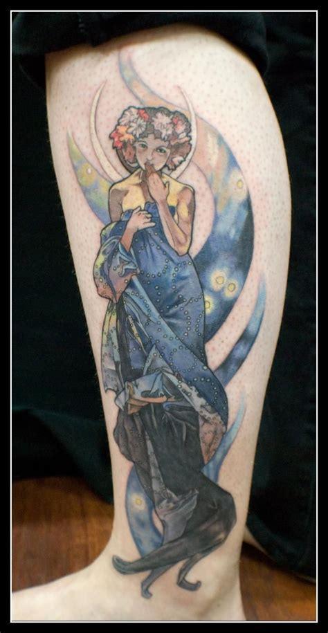 alphonse mucha tattoo alphonse mucha quot moon quot