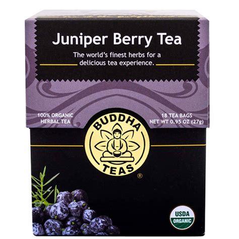 Buddha Leaf Berry Detox by Buddha Teas Herbal Tea Juniper Berry 18 Bags