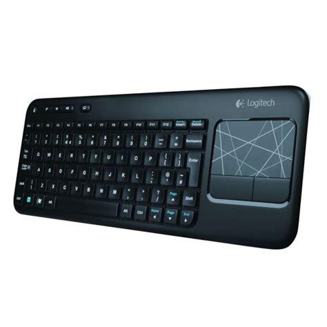 Keyboard Logitech Wireless Touch K400 Plus For Smart Tv Original logitech wireless touch keyboard k400 clavier sans fil avec pav 233 tactile int 233 gr 233 azerty