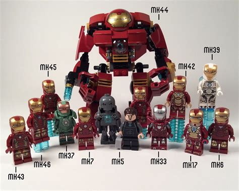 general release lego ironman armours lego