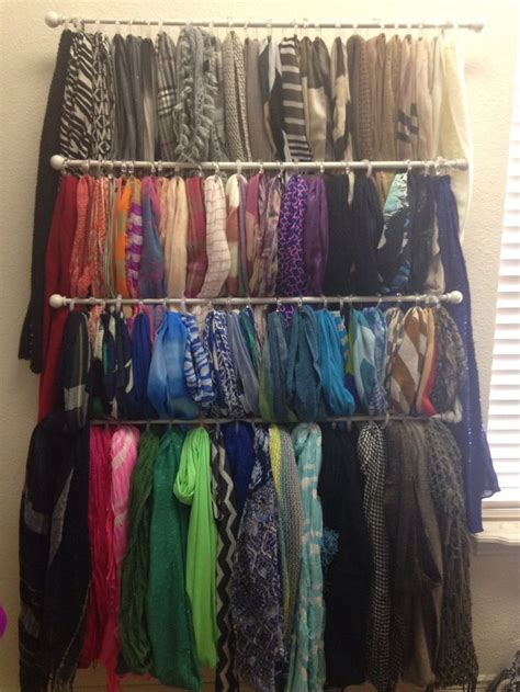 scarf organization walk in closet the o