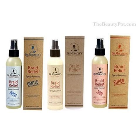 dr miracle hair braids sprays and lotion on pinterest