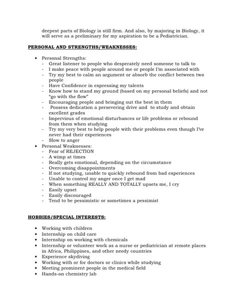 Reference Letter Strengths Resume Format For Recommendations