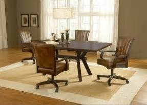 Casters For Dining Room Chairs dining room chairs with casters foter