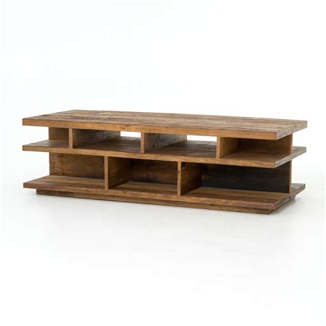 ruby open wood coffee table mecox gardens