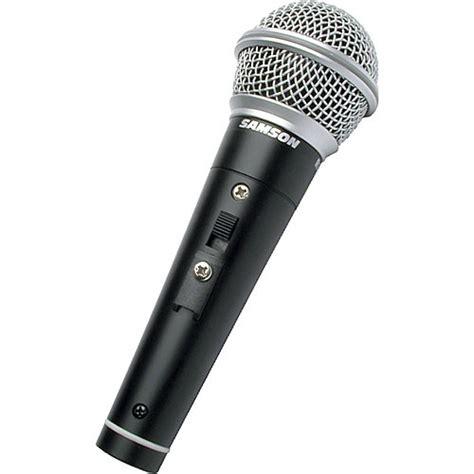 Microphone Samson R21s samson r21s cardioid handheld microphone scr21s b h photo