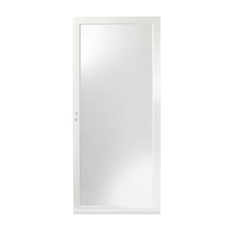 door 3000 series with low e glass emco 32 in x 80 in 75 series white self storing