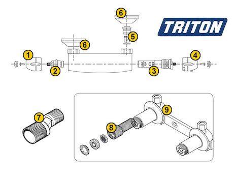 Triton Sema Shower by 5 Triton Connector Triton 86002660 Triton