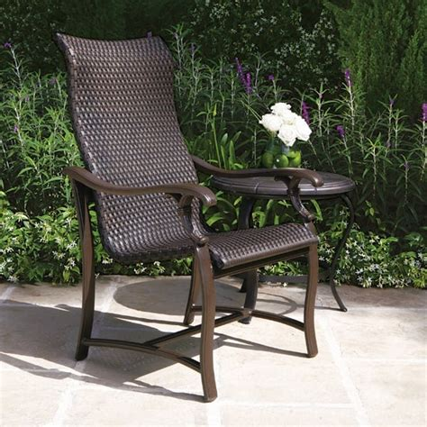 woven patio furniture ravello woven patio dining set by tropitone