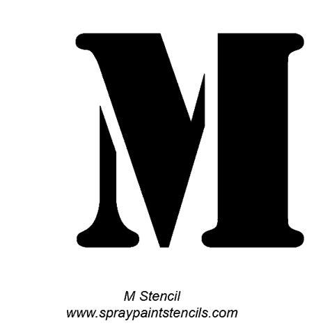 10 best stencil lettering images on pinterest stencil letter m outline cliparts co