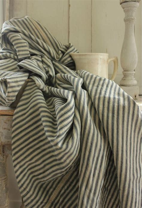 country french upholstery fabric country french country bedding in classic ticking stripe