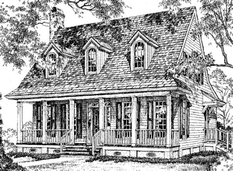 Creole Cottage William H Phillips Southern Living Cajun Cottage House Plans
