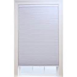 blackout cordless blinds shop allen roth white blackout cordless polyester