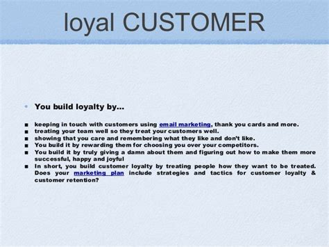 thank you letter to loyal customers customer classification
