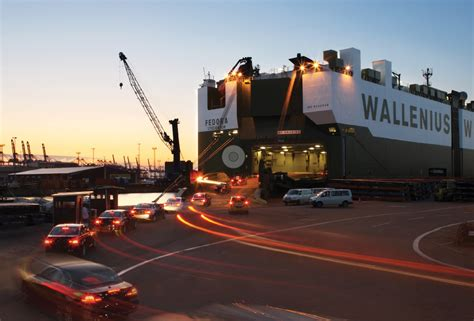 Car Shipping Ports by European Vehicle Ports Sail Into The Light Automotive