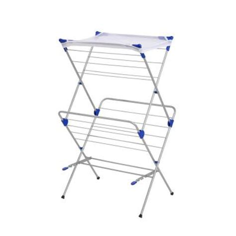 Mesh Drying Rack by Honey Can Do 2 Tier Mesh Top Drying Rack 01104 The Home Depot