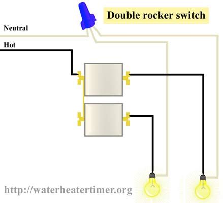single pole switch wiring diagram light efcaviation