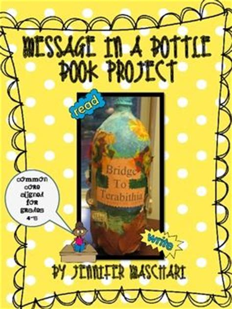 message in a bottle book report message in a bottle book project book projects messages