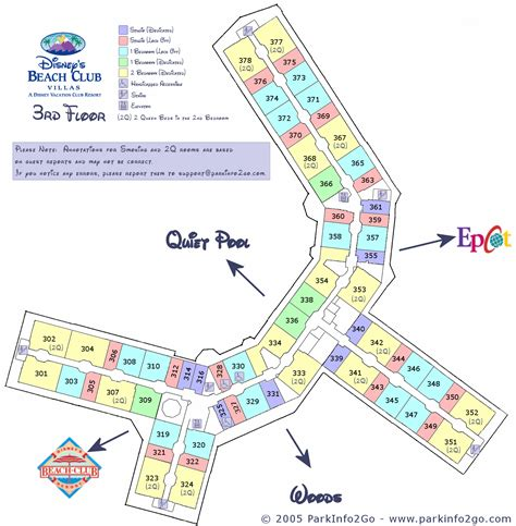 disney beach club villas floor plan disney vacation club beach club villas floorplan 3rd