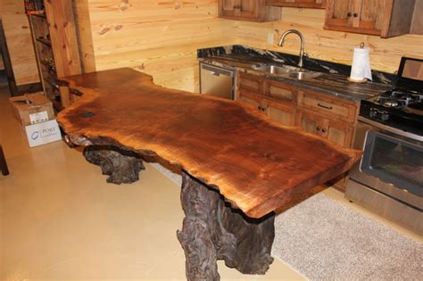 rustic wood bar tops natural wood countertops rustic home bar nashville
