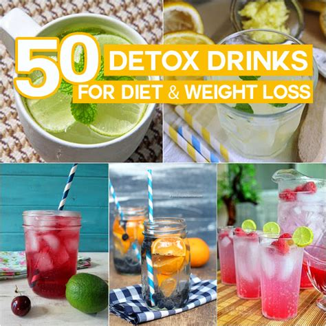 At Home Diet Detox Drinks by 50 Detox Drinks For Diet Weight Loss You Can Do At Home