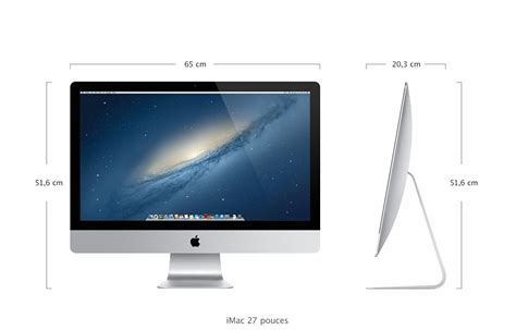 ordinateur de bureau 27 pouces apple imac me088f a 27 pouces me088f a achat ordinateur