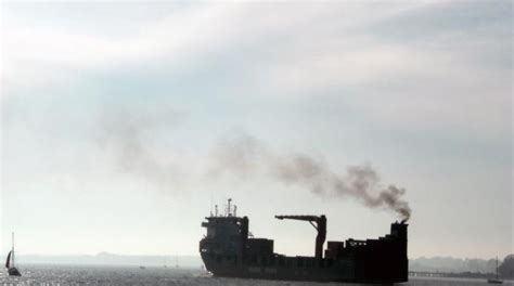 boat road transport cost air pollution from ships transport environment