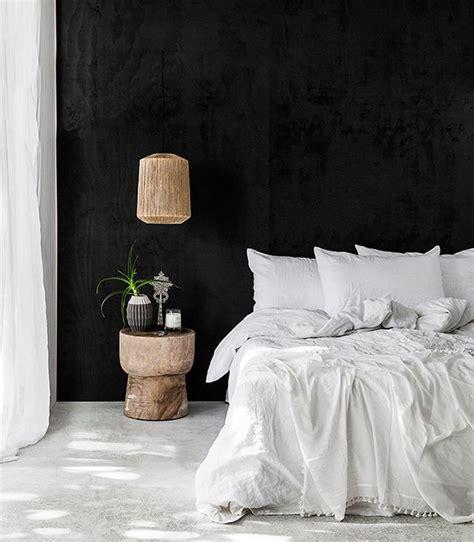 black walls best 25 black bedrooms ideas on