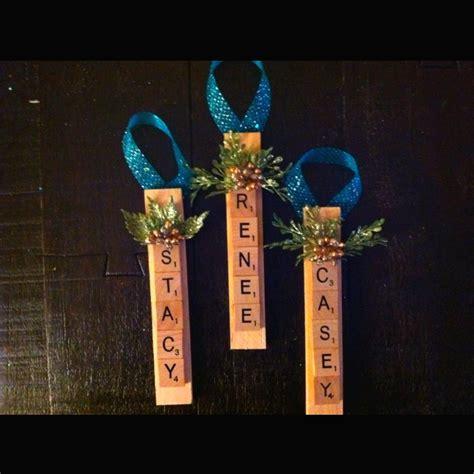 scrabble ornaments scrabble letter ornaments