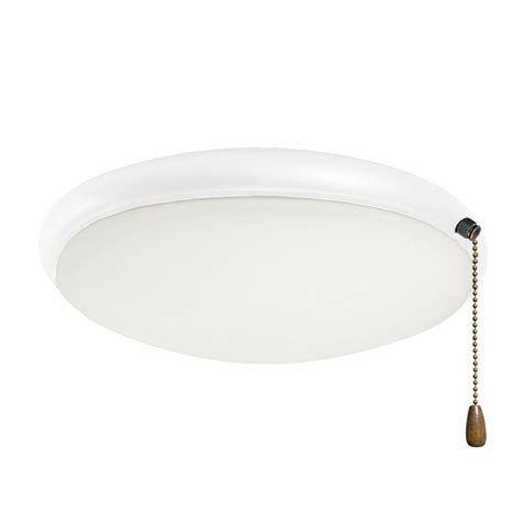 illumine zephyr 2 light appliance white ceiling fan light