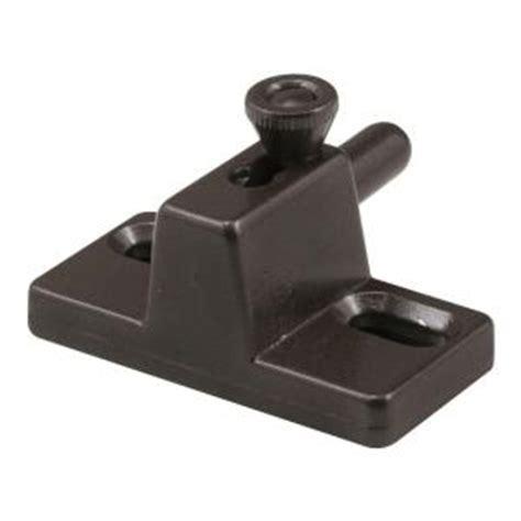 prime line bronze sliding door slide bolt lock s 4007