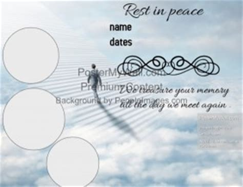 tarpaulin layout design for death customizable design templates for funeral postermywall