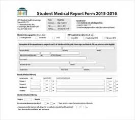 Medico Report Writing by 8 Report Templates Free Sle Exle Format Free Premium Templates