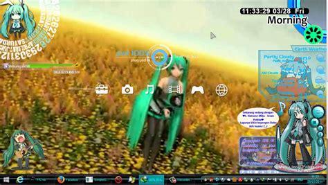 theme windows 8 1 hatsune miku windows 8 1 hatsune miku theme youtube